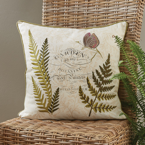 Botanical Garden Poly Pillow