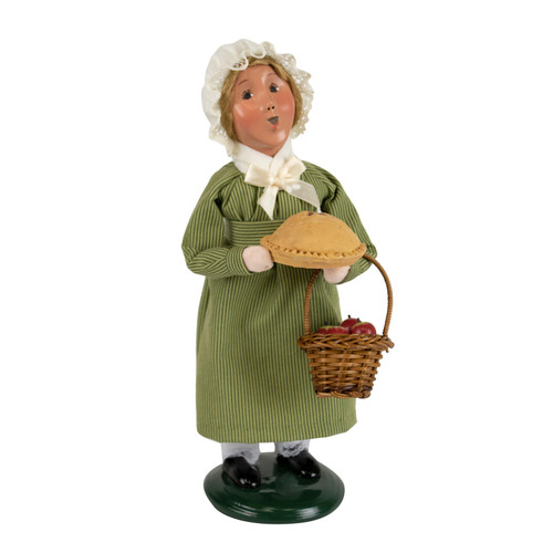 Byers' Choice Colonial Girl with Pie