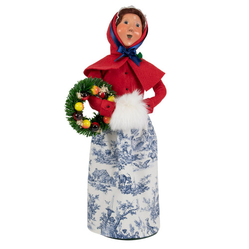 Byers' Choice Colonial Woman with Wreath