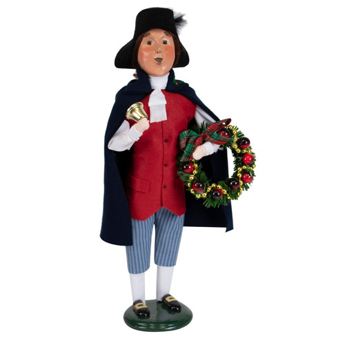 Byers' Choice Man With Wreath