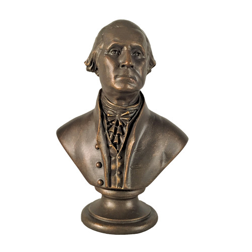 Miniature George Washington Bronze Sculpture