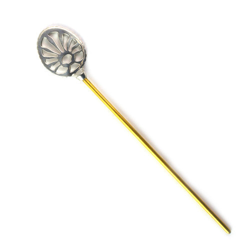 Pierced Oval Hairpin