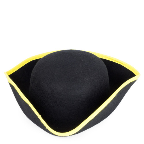 Boys Cocked Yellow Trim Hat