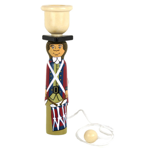 Fife and Drum Ball and Cup Toy