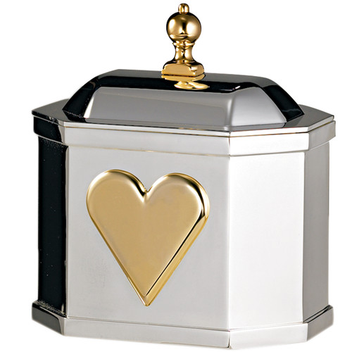 Pewter Heart Box