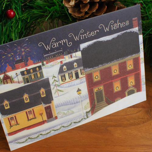 Grand Illumination Christmas Cards   The Shops at Colonial Williamsburg