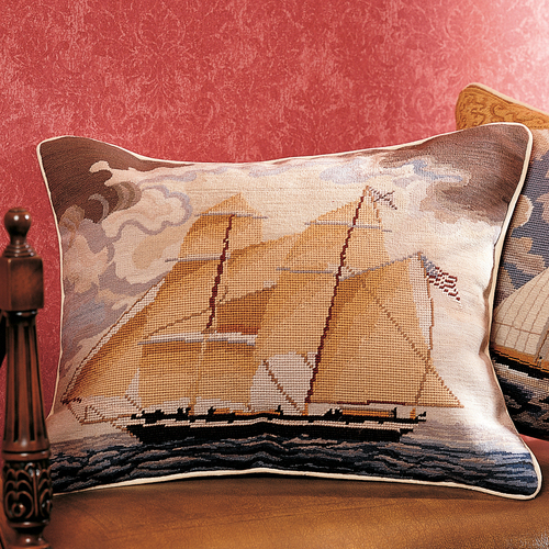 Brig Georgiana Pillow