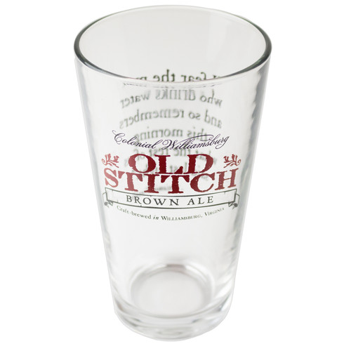 Old Stitch Pint Glass