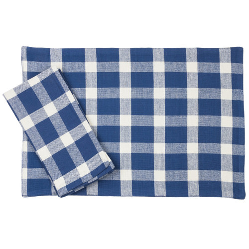 Tavern Check Placemats & Napkins
