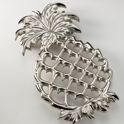 Pineapple Trivet with New Castle finish