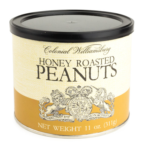 Honey Roasted Peanuts 11 oz