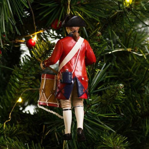 Colonial Williamsburg Drummer Ornament