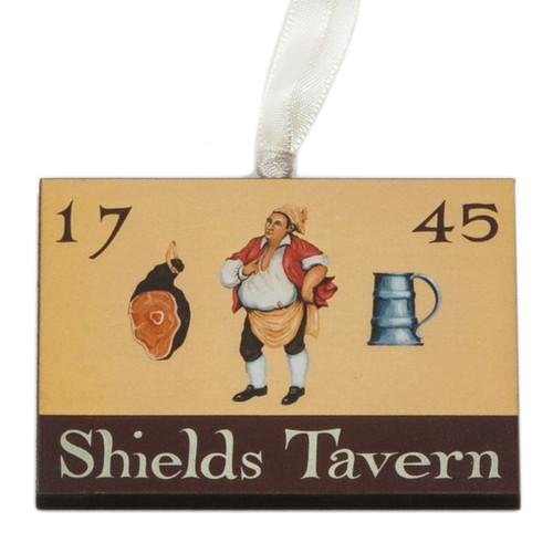 Shields Tavern Sign Ornament