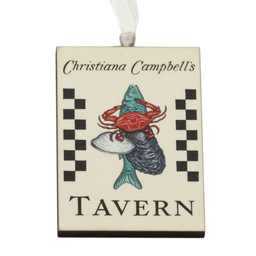 Campbells Tavern Sign Ornament