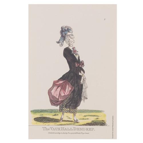 Vaux Hall Macaroni Print