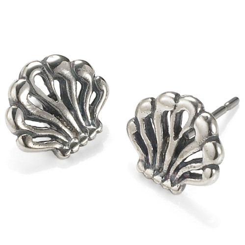 Anthemion Sterling Silver Earrings
