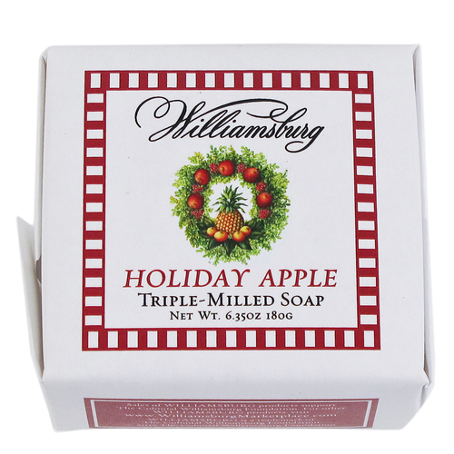 Square Holiday Apple Bar Soap