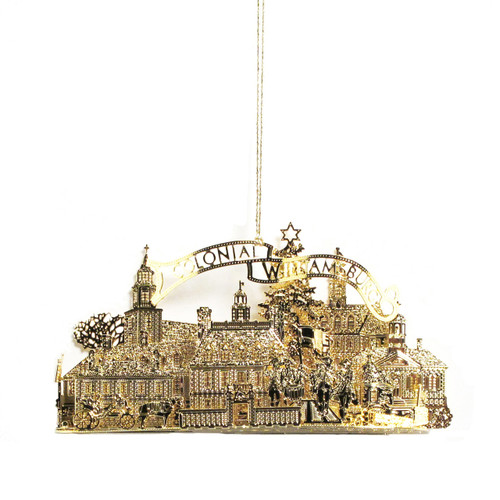Townscape Brass Ornament