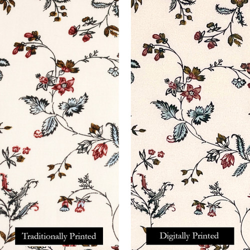 Francis Open Floral Fabric