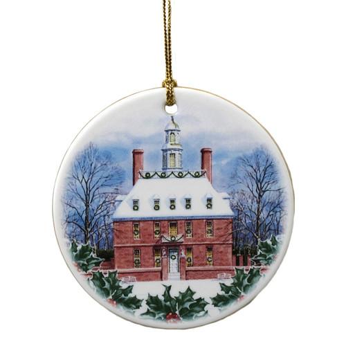 Governor's Palace Porcelain Ornament