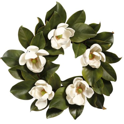 Classic Magnolia Wreath