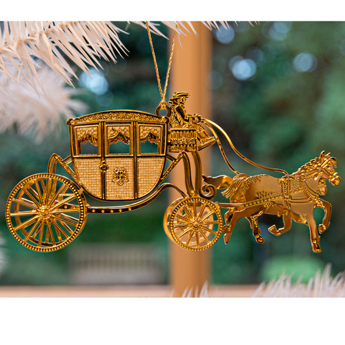 Dunmore Coach 3D Ornament