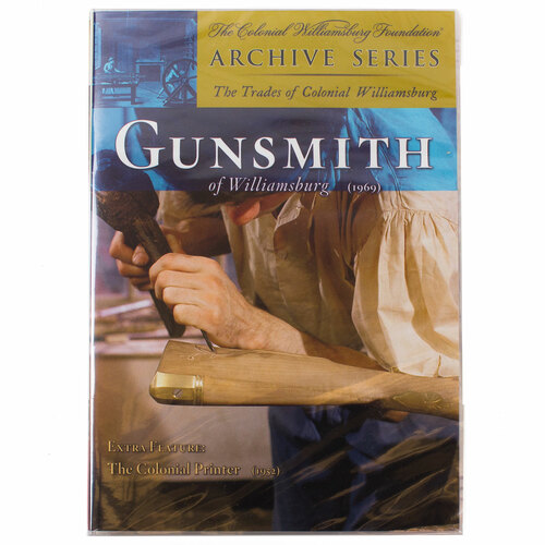 Gunsmith Of Williamsburg DVD