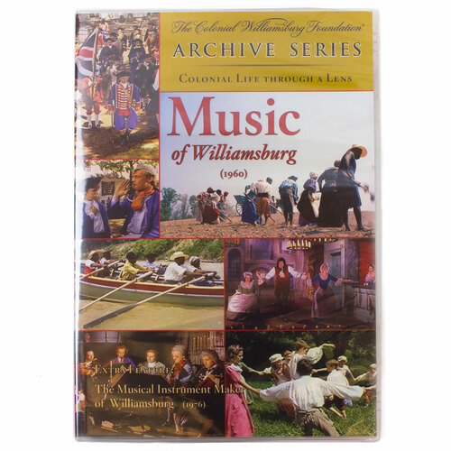 The Music Of Williamsburg DVD