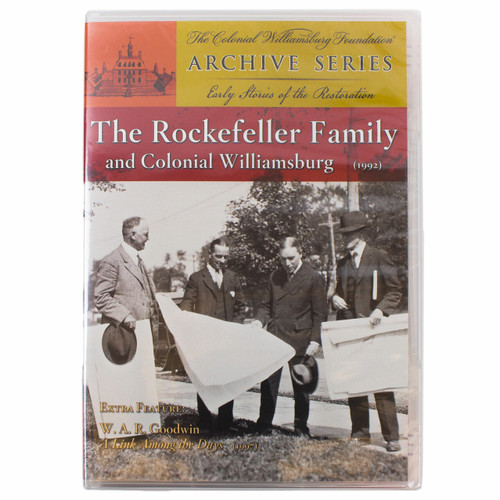 The Rockefeller Family And Colonial Williamsburg DVD