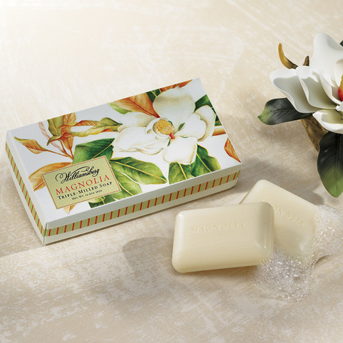 WILLIAMSBURG Magnolia Soaps, Set/3