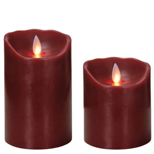 Mystique Red Pillar Candle