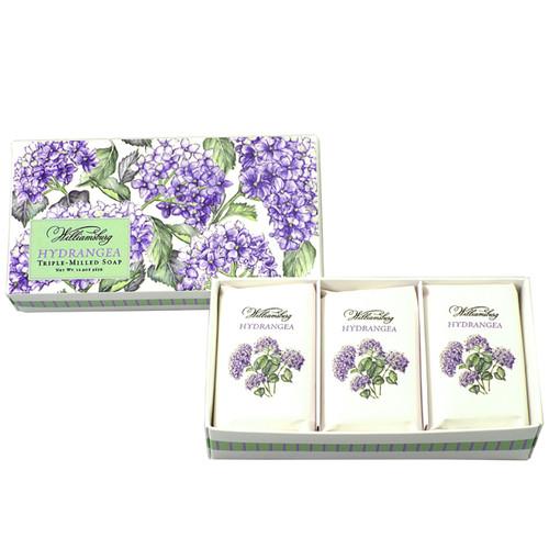 Hydrangea Soap, Set/3