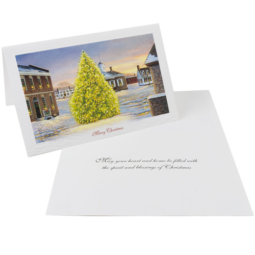 Christmas in Market Square Christmas Cards