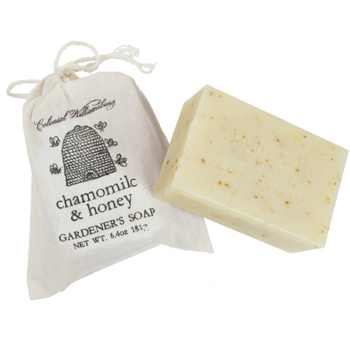 Chamomile and Honey Garden Sack Soap