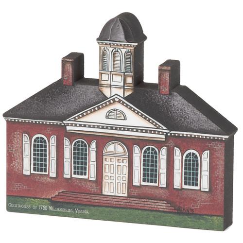 Flat-Back Courthouse