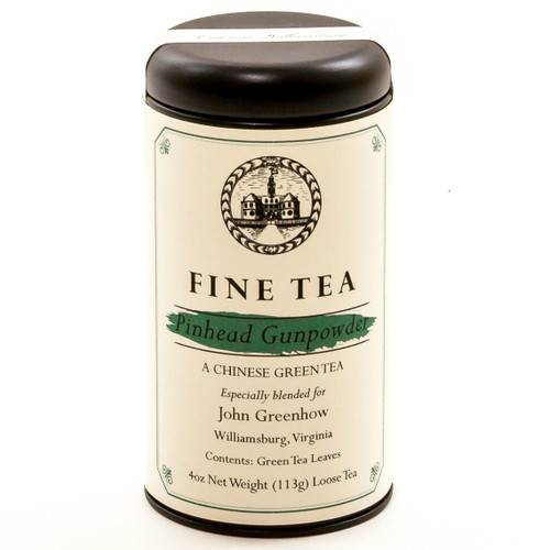 Pinhead Gunpowder Loose Tea Canister