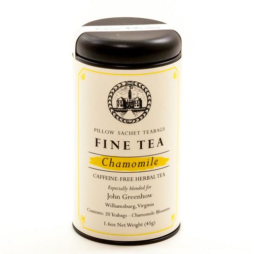 Chamomile Fine Tea Sachet Canister