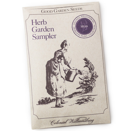 Colonial Williamsburg Heirloom Herb Seeds Collection Packet - heirloom seeds for your garden from the Colonial Williamsburg seed collection | The Shops at Colonial Williamsburg