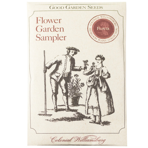 Colonial Williamsburg Flower Seed Collection Packet