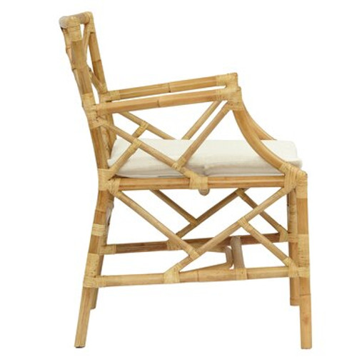 Natural Bassett Hall Arm Chair