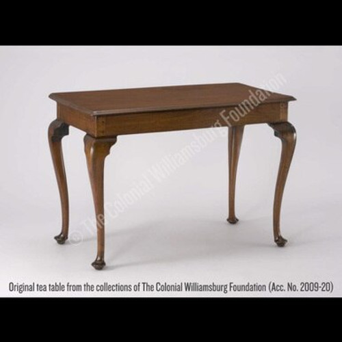 Lord Dunmore Tea Table - Original tea table from the collections of The Colonial Williamsburg Foundation. (