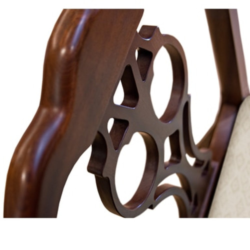 Peyton Chippendale Arm Chair
