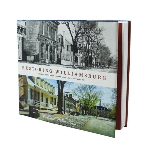 Restoring Williamsburg - front cover