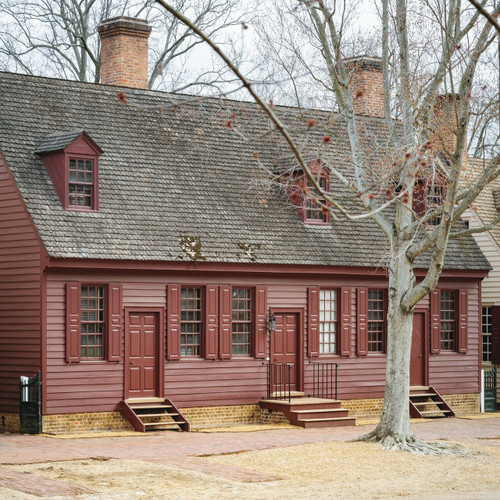 Restoring Williamsburg - John Crump House after the restoration