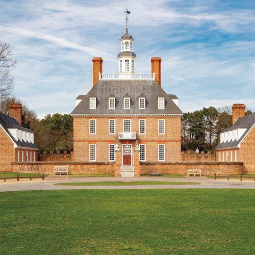 Restoring Williamsburg - Governor's Palace after