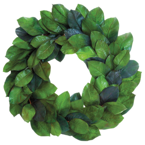 Magnolia Green Leaf Wreath | The Shops at Colonial Williamsburg