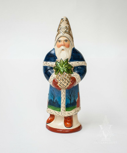 Vaillancourt Santa with Pineapple and Palace | The Shops at Colonial Williamsburg