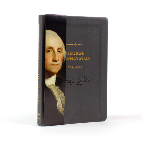 George Washington Signature Notebook - portrait sleeve cover