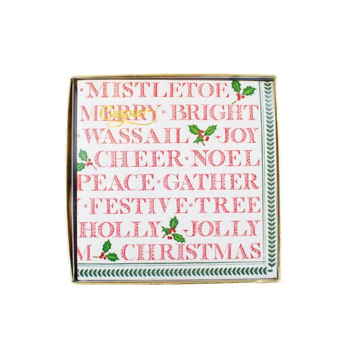 Yuletide Cheer Cocktail Napkins | The Shops at Colonial Williamsburg