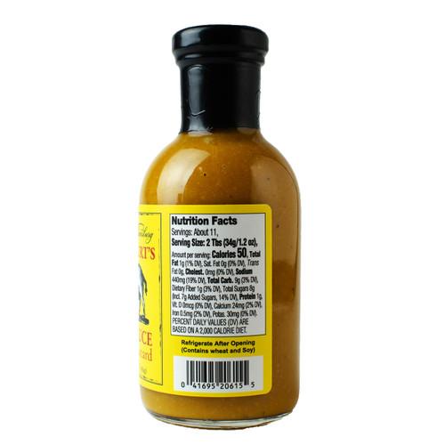 Botetourt's Tangy Mustard BBQ Sauce